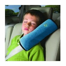 Blue Car Kids Children Vehicle Shoulder Pillows Cushion Pad Safety Seat Belt