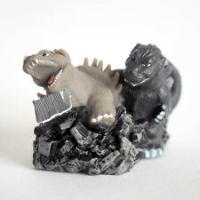 Rare Bandai Candy Toy Godzilla impact Finger Puppet Godzilla 1955 with Angilas