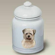 Glen of Imaal Terrier Ceramic Treat Jar Tb 34215