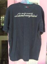 Lamborghini Black T-Shirt Size L