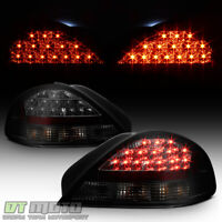 Black Smoke 1999-2005 Pontiac Grand AM Lumileds LED Tail Lights Lamps Left+Right