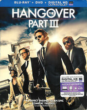 The Hangover Part III ~ Blu-ray + DVD + Digital HD Ultraviolet with Slipcover