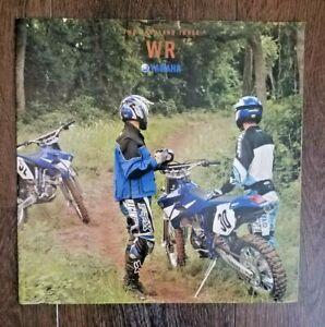 Yamaha 2003 Sales Brochure Catalog WR Off Road WR450F WR250F