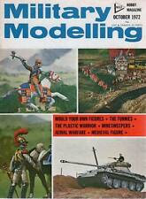 MILITARY MODELLING MAGAZINE 1972 OCT FLEET MINESWEEPERS OF WWII, AERIAL WARFARE