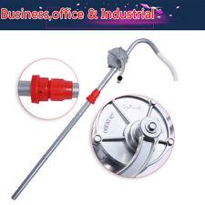 Pompa Olio a Leva Pompa DellOlio Rotativa a Mano Autoadescante Con Ugello Intercambiabile Pompa a Barile