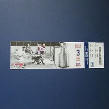 MAURICE RICHARD JOHNNY BOWER ticket 2009 Canadiens Maple Leafs 1960 STANLEY CUP