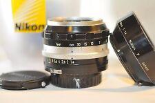 Nikon F Nikkor-S 5.8cm f/1.4 58mm NON-AI PRIME standard lens Nippon Kogaku 1959