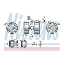 Fits BMW 3 Series E46 318d Genuine Nissens Interior Heater Blower Motor Fan