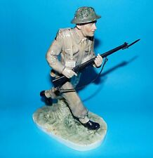 COALPORT figurine ornament ' Soldier ' For King and Country  LTD ED