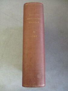 VINTAGE NATIONAL GEOGRAPHIC MAGAZINE BOUND VOLUME 18 1907