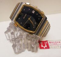 Watch Orologio BULOVA P2 Quartz Swiss | UHR | MONTRE | Anni 70/80 Nuovo