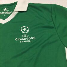 Heineken Large Bright Green Football Jersey 'UEFA Champions League'#11