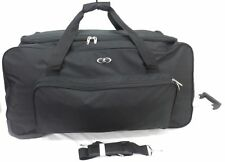 """31"""" Large Wheeled Travel Luggage Trolley Holdall Suitcase Duffel Sports Bag 123L"""
