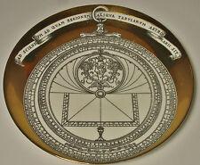 Piero Fornasetti Milano Astrolabio Piatto da collezione Piatto decorativo parete