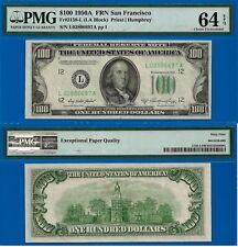 TOP POP 1/0 - 1950-A $100 FRN (( San Francisco District )) PMG 64EPQ - 02806697