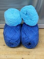Knitting-Crochet-Yarn-290g-Blues-Turquoise-Corn-Crafts-7G