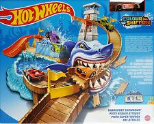 Hot Wheels City Colour Shifters Sharkport Showdown Shark Track Eater Playset
