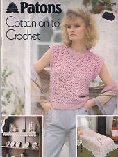 Home Decor Vintage Patterns for Crocheting and Knitting