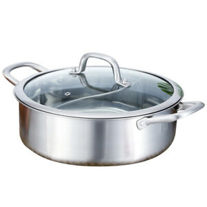 Stainless Steel Hot Pot Multi-functional Soup Pot Non-stick Cooking Pot