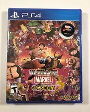 Ultimate Marvel vs. Capcom 3 (Sony PlayStation 4, 2017) Shipped in a box