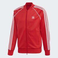 Adidas Originals Superstar Tracksuit Top SST TT - Red/White - Large - FM3809