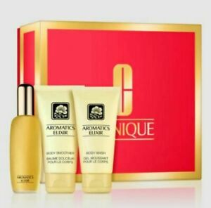 Clinique Aromatics 45ml EDP Gift Set, Body Smoother & Body Wash New in Box