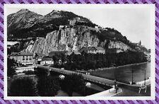 Cartolina - Grenoble, les forte di pialla a filo et la Bastille