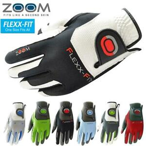 ZOOM GOLF GLOVES ONE SIZE MENS LEFT HAND ZOOM TOUR / AQUA AND WEATHER STYLES