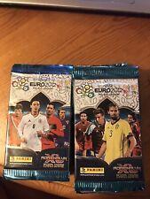 Adrenalyn XL Panini 10 Unopened packs cards UEFA EURO 2012