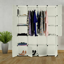 20 Cube DIY Plastic Wardrobe Cupboard Closet Cabinet Organizer Storage s 02