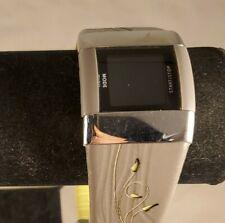 Nike Merge Lift Digital Chrono Sport Watch WC0026 Womens Earth Volt Silver