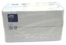 4500 Tork Papierservietten / Prägeservietten 32x33cm, weiß, 1/8 Falz, 1lagig