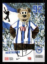 Herthinho Autogrammkarte Hertha BSC Berlin 2010-11 Original  + A 104278