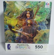 2010 vintage Mystical Shimmer 550 Piece Glitter Puzzle-Ceaco Steve Roberts NEW