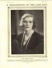 1922 Miss Edwina Ashley Baring Balfour Coote He Pretyman