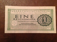 Rare German Reichsmark 1944 Money Bill