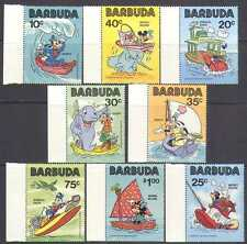 Barbuda 1981 Disney/Cartoon/Mickey/Animation 8v n24798