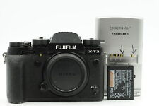Fuji Fujifilm X-T2 24.3MP Mirrorless Black Digital Camera Body #323