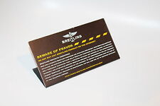 Breitling Retailer Sign - Rare