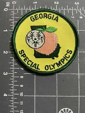 Vintage Georgia Special Olympics Patch Peach GA State Games Sports Summer Fall