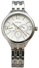 Fossil BQ3126 Modern White Dial Stainless Steel Multifunction Women's Watch