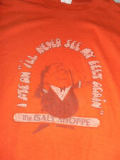 VINTAGE 70S The Islay Shoppe Ohio Pittsburgh Resturant T SHIRT Large 50/50 VTG