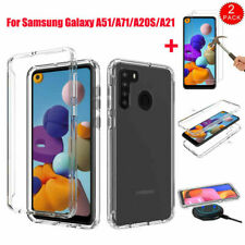 For Samsung Galaxy A51/A71/A20S Shockproof Armor TPU Case Cover+Screen Protector
