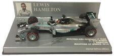 Minichamps Mercedes W05 Winner Malaysian GP 2014 - Lewis Hamilton Champion 1/43