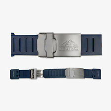 CASIO PRO TREK PRT MEN SPORT WATCH RUBBER BAND NAVY PROTREK  STRAP 20mm