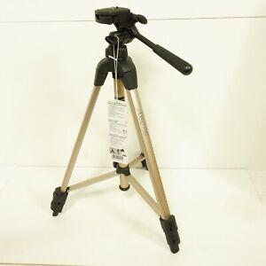 Hama Star 42 Portable Tripod Brushed Metal Black Sturdy Case Clean Condition B26