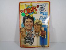 1977 MEGO CORP--CHIPS TV SHOW--WHEELS WILLY FIGURE (NEW)
