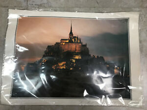 Mont St Michel Normandy France Travel French     POSTER
