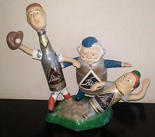 Vintage Cast Metal Blatz Beer Advertising Safe At Home Baseball Back Bar Display