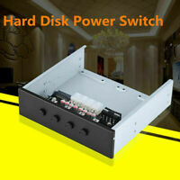2.5In SATA IDE HDD Power Control Switch Hard Drive Selector Power Switch For PC